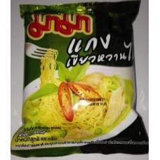 Лапша быстрого приготовления Chicken Green Curry, 55 гр