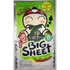 Хрустящие жареные водоросли Нори Big Sheet, 3,5 гр