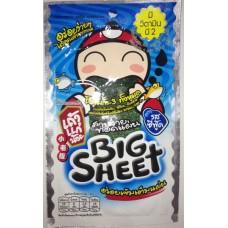 Хрустящие жареные водоросли Нори Big Sheet Omega-3, 3,5 гр