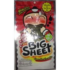 Хрустящие жареные водоросли Нори Big Sheet Spices, 3,5 гр