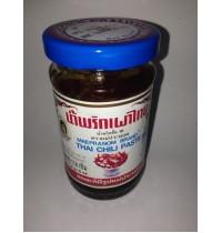 Thai Chili Paste Тайская чили-паста Нам Прик Пао - Maepranom Brand