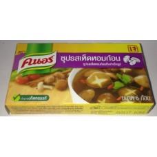 Тайский продукт Бульоные кубики со вкусом грибов Шиитаке купить из Таиланда в интернет-магазине - Thai Brand