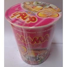 Лапша быстрого приготовления Yentafo Tom Yum Monfai MAMA, 60 гр