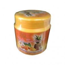 Лечебная маска для волос с экстрактом манго и ананаса Darawadee, 500 мл