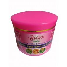 Маска для волос с Кератином Rice Milk Jinda Herbal Treatment Oil - Jinda (400 мл)