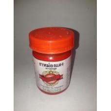 Тайский красный бальзам с маслом Гультерии Konga Herb, 50 гр