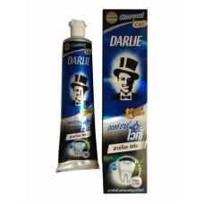 Угольная зубная паста Дарли All Shiny White  Charcoal Clean - Darlie (140 гр)