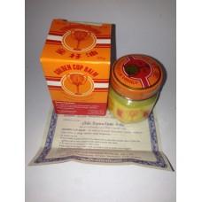 Тайский продукт Желтый бальзам Golden Cup Balm, 22 гр купить из Таиланда в интернет-магазине - Thai Brand