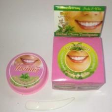 Тайская зубная паста Kinaree на основе трав с экстрактом гвоздики, 25 гр