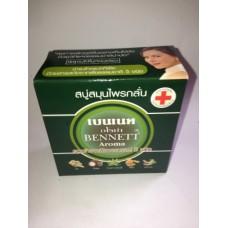 Мыло с экстрактом из 5 трав и фруктов Bennett Aroma, 170 гр