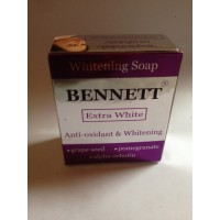 Мыло c экстрактом из косточек винограда и граната Extra White Bennett, 130 гр