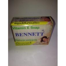 Мыло натуральные экстракты с витамином Е Bennett, 130 гр